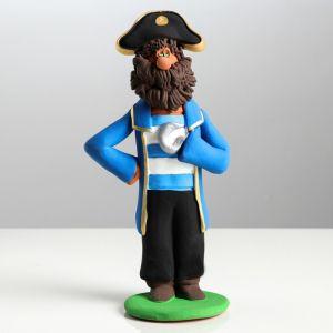 """Сувенир-статуэтка средняя """"Пират"""", 19,5 см, микс, керамика"""