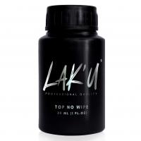 LAK'U Top no wipe (Топ без липкого слоя), 30 мл