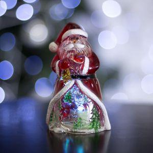 """Игрушка световая """"Дед Мороз-мудрец"""" (батарейки в комплекте) 1 LED, RGB 1077331"""