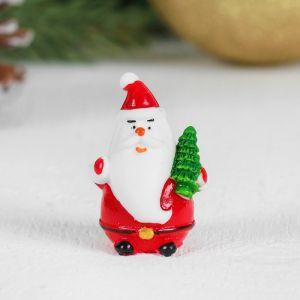 Миниатюра кукольная «Дед Мороз», набор 2 шт, размер 1 шт: 2?2,4?4 см