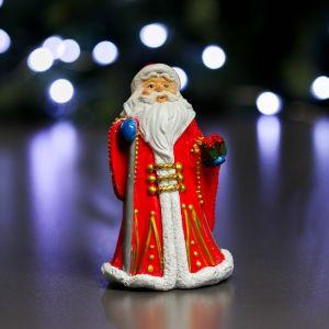 """Фигура """"Дед Мороз в красной шубе"""" 8х6х12см   3864999"""