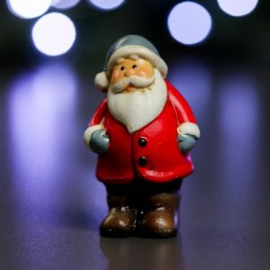 """Фигура """"Дед Мороз в сером колпаке"""" 3х4х7см   3865000"""