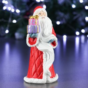 "Фигура ""Дед Мороз"" красный, 7х6х14см   4488540"