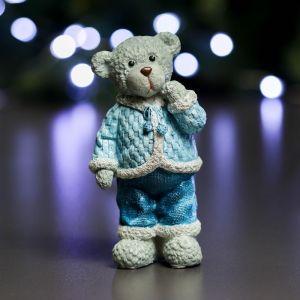 """Фигура """"Медведь №3"""" синий 7х6х14см   3865005"""