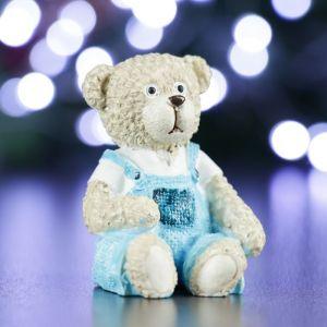 """Фигура """"Медведь в комбинезоне"""" 4,5х5х5.5см   4488545"""