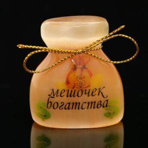 Сувенир «Мешочек богатства», большой, селенит 2849032