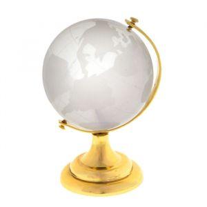 """Сувенир стекло """"Глобус"""" d=6 см 100097"""