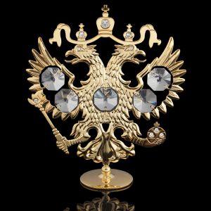 Сувенир «Герб России», 9,5?3?11 см, с кристаллами Сваровски 1256738