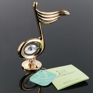 Сувенир «Нота», 3?8.5?10.5 см, с кристаллами Сваровски   4552470
