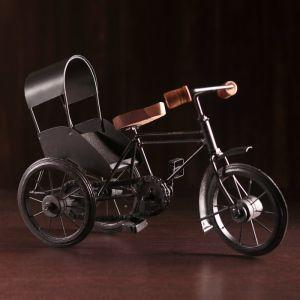 """Сувенир металл """"Велосипед - рикша"""" 31х13х21 см   4205815"""