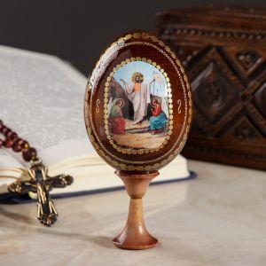 "Яйцо сувенирное ""Воскресенье Христово"", на подставке 717154"