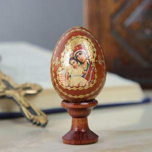 """Яйцо сувенирное """"Достойно есть"""", на подставке 4223567"""