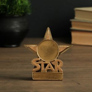 """Статуэтка """"Звезда"""", 13х7х3 см   4096054"""