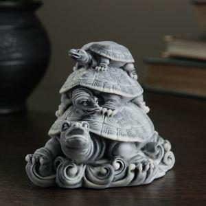 """Сувенир """"Три черепахи (пирамидка)"""" 8см   4011969"""