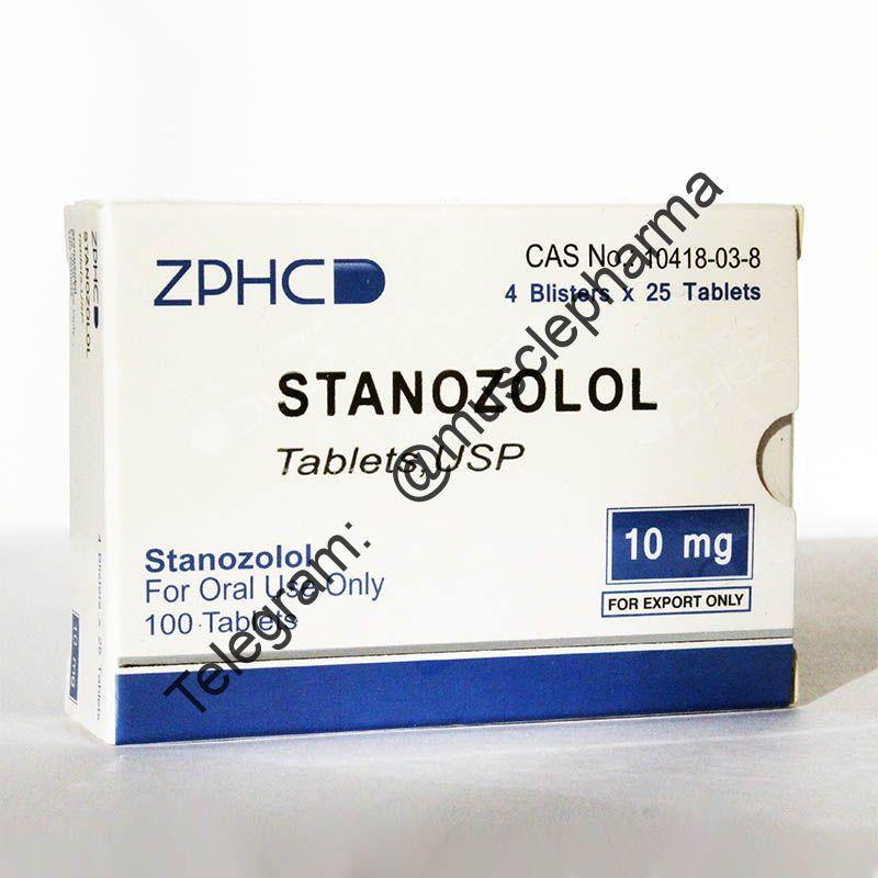 STANOZOLOL (СТАНОЗОЛОЛ). ZPHC. 100 таб. по 10 мг.