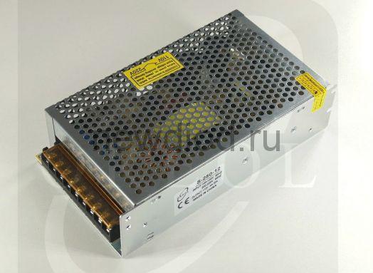 Блок питания 250W.12V.20A.IP20 (Металлический корпус) OREOL