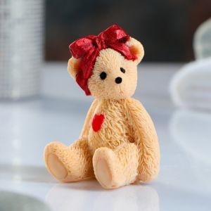 """Мыло фигурное """"Мишка с бантом на голове"""" 45 г, МИКС   3419435"""