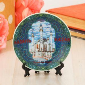 Тарелка сувенирная «Казань. Мечеть Кул Шариф», d=10 см