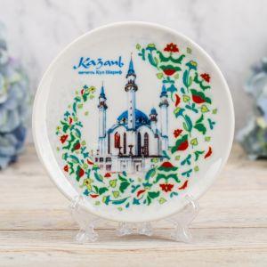 Тарелка декоративная «Казань. Мечеть Кул-Шариф», d=12 см