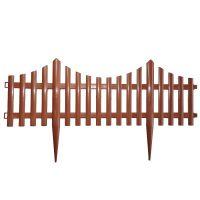Забор декоративный Полимерсад-8 (цвет терракот)_2