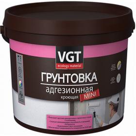 Грунтовка VGT Mini 3кг ВД-АК-0301 Кроющая, Белая для Декоративных Штукатурок / ВГТ Мини