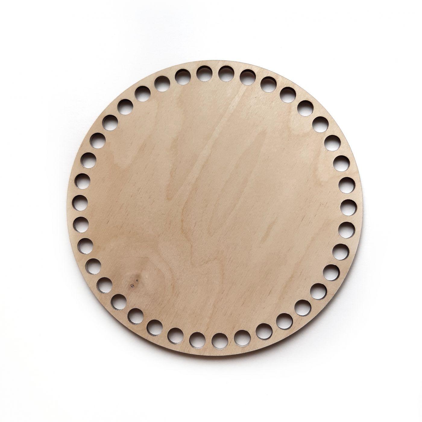 Круг фанера 4 мм 9 см