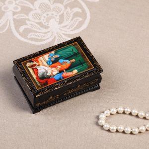 Шкатулка «Иконы», 6?9 см, лаковая миниатюра, микс 594977