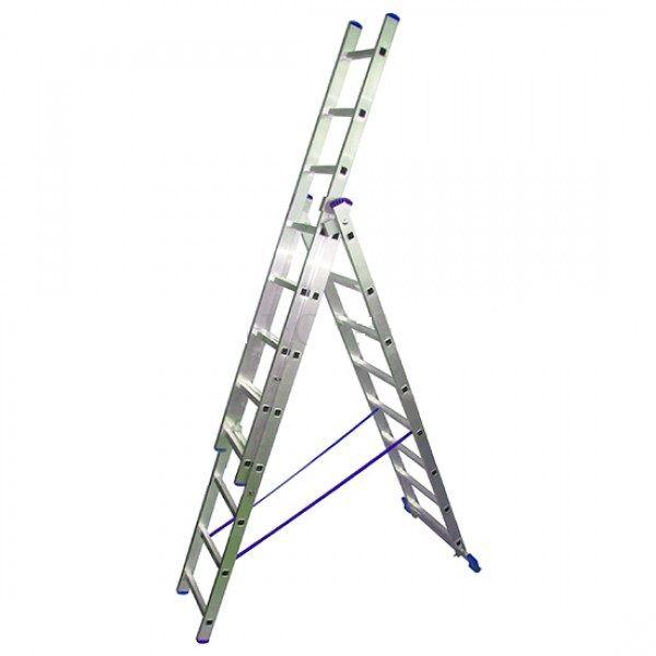 Лестница стремянка трёхсекционная LWI 3х12