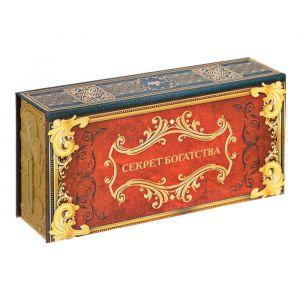 """Шкатулка в картонной обложке """"Секрет богатства"""" 3445303"""
