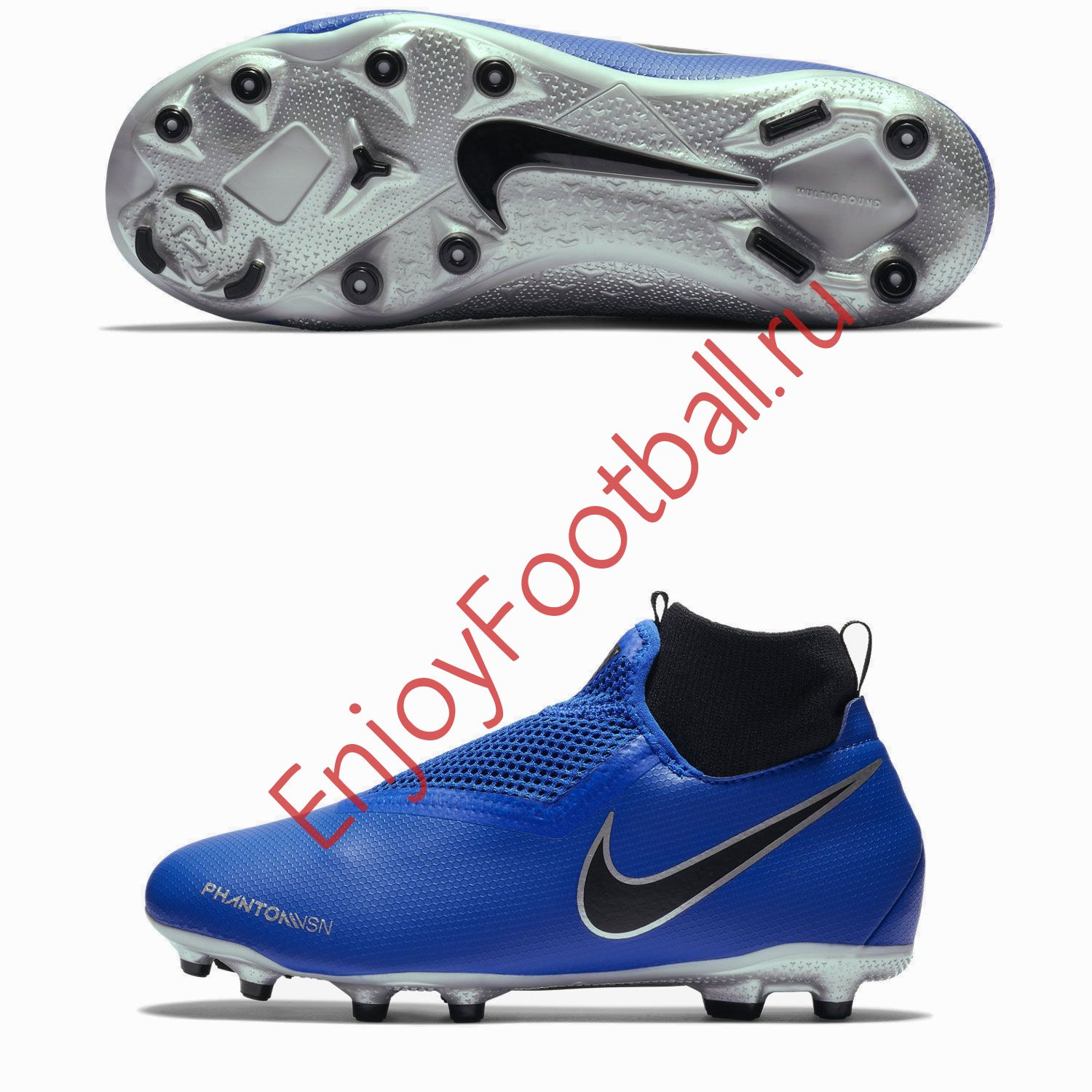 49bab8eb3c72 Детские бутсы NIKE PHANTOM VSN ACADEMY DF FG MG AO3287-400 JR купить ...