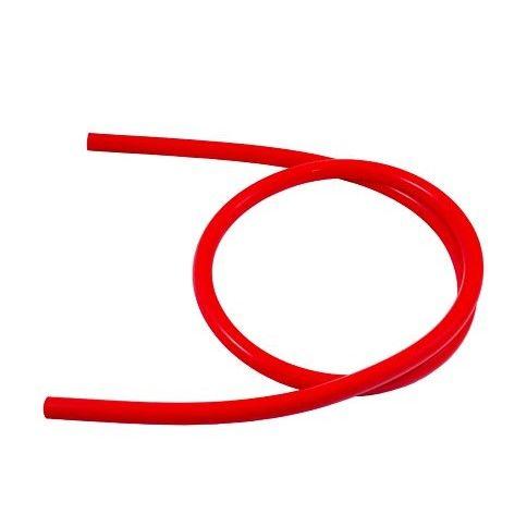 Шланг силиконовый Kaya непрозрачный без логотипа (красный)