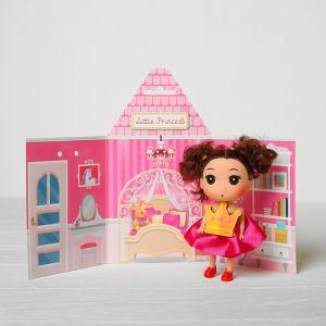 Кукла подвеска «Алиса», 9 см, цвета МИКС