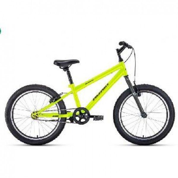 Велосипед ALTAIR MTB HT 20 1.0 (RBKT01N01009) Зеленый/серый