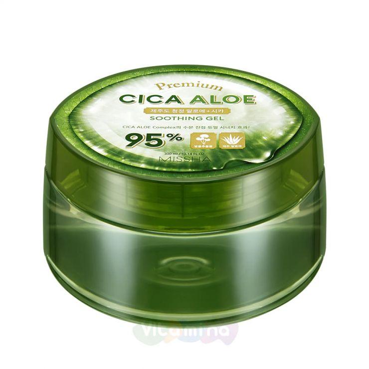 Missha Успокаивающий гель с Алоэ Premium Cica Aloe Soothing Gel 300 мл