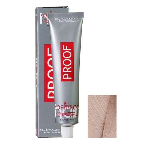 Крем-краска для волос Proof 10.2 светлый блондин перламутровый, 60 мл