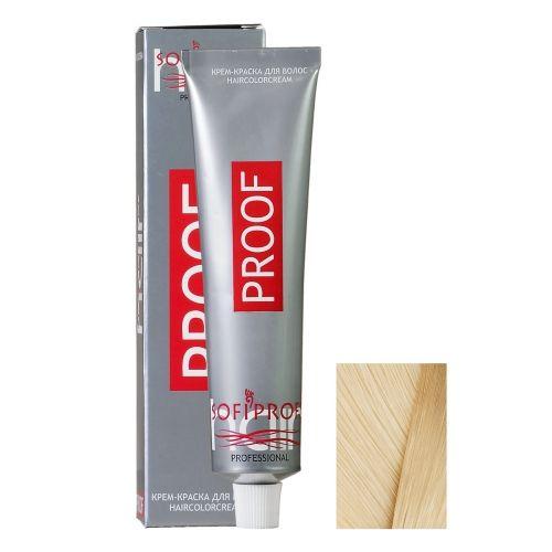 Крем-краска для волос Proof 11.3 экстра золотисто-платиновый блондин, 60 мл