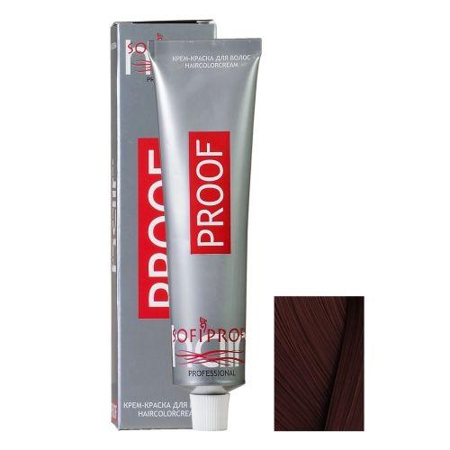 Крем-краска для волос Proof 5.7 светлый шатен шоколадный, 60 мл