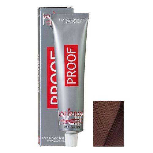 Крем-краска для волос Proof 6.32 темно-бежевый, 60 мл
