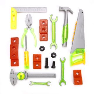 Набор инструментов, 17 предметов, пакет