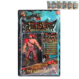 Фигурка Пират с оружием, в ассортименте, блистер