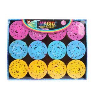 Игра-слик, Магическая радуга, 6,8*6 см, свет, дисплей