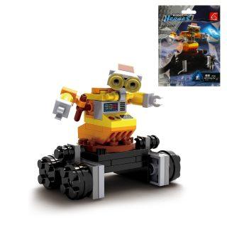 Конструктор серии Роботы, 55 дет., пакет