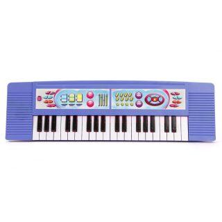 Синтезатор муз. 37 клавиш, 2 режима работы, в ассорт., батар.AA*3шт. в компл.не вх., пакет