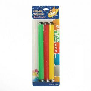 """Магнит пластик """"Палочки цветные"""" набор 3 шт 17х1,5 см 2272595"""