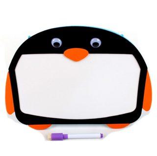 Доска для рисования маркерная Пингвин,  пакет