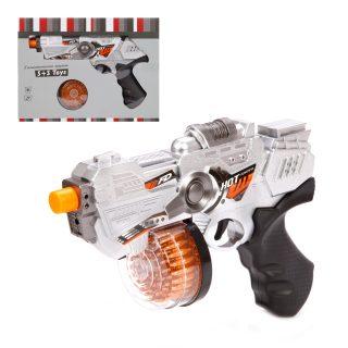 Пистолет Галактический эл., свет, звук, эл.пит.AA*3шт. не вх.в комплект, коробка, в ассортименте