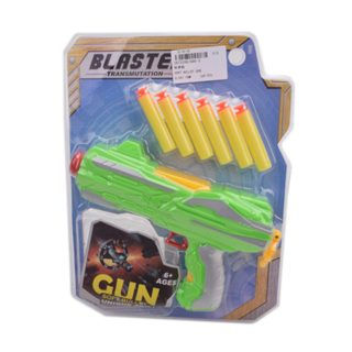 Пистолет, в комплекте м/пули с присосками 6шт.
