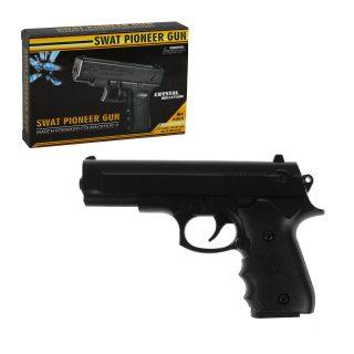 Пистолет, гелевые пули пакет 1шт., коробка