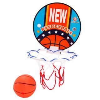 Набор для игры баскетбол Чемпион , щит 15см, мяч 8 см, а ассорт., пакет