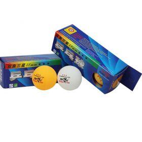 Шарики для настольного тенниса Double Fish, 3 star , пластик (3 штуки)